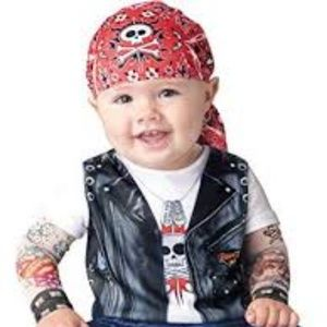 Other - Costume: Born to be Wild (2PCS) SIZE 6 - 12 MONTHS